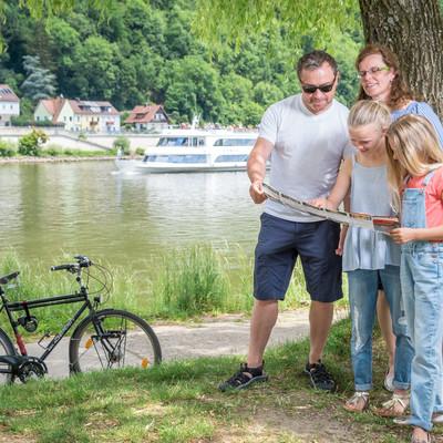 Radler in Passau an der Donau