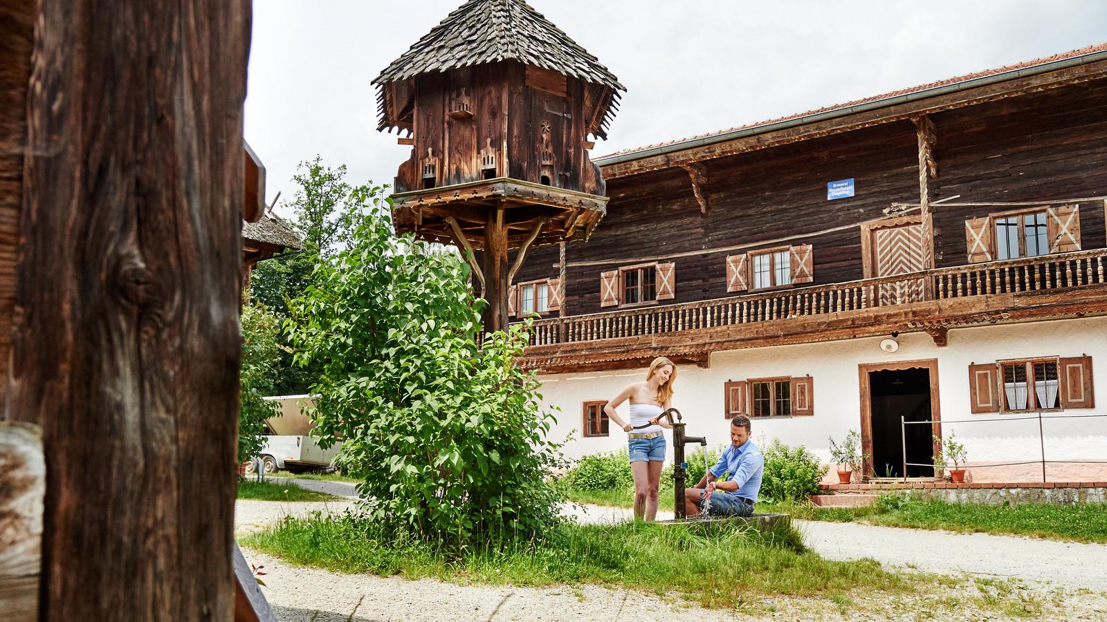 Das Freilichtmuseum in Massing in der Ferienregion Rottal-Inn