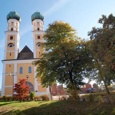 Die Wallfahrtskirche Gartlberg in Pfarrkirchen in der Ferienregion Rottal-Inn