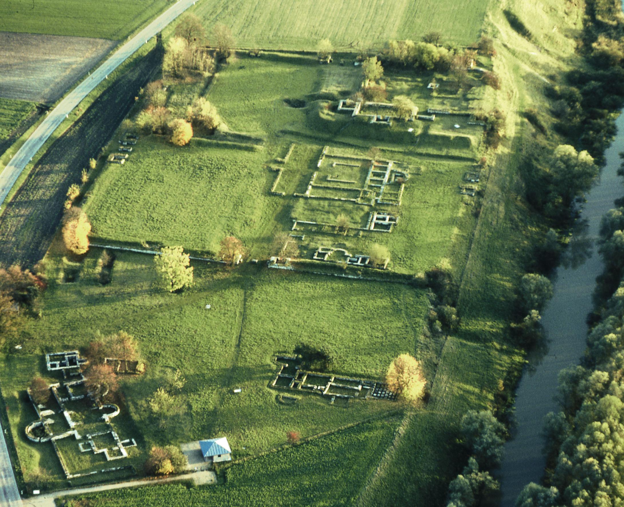 Das Römerkastell in Eining bei Neustadt a.d.Donau ist ein ehemaliges Kohortenkastell und Bestandteil des UNESCO-Weltkulturerbes Limes.