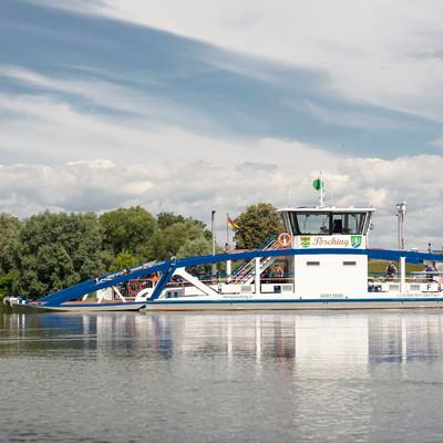 Die Fähre in Stephansposching über die Donau