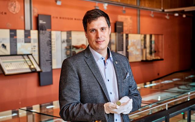 Dr. Roman Weindl, der Leiter des Museums Quintana in Künzing