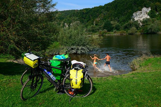 Baden in der Donaubucht Matting