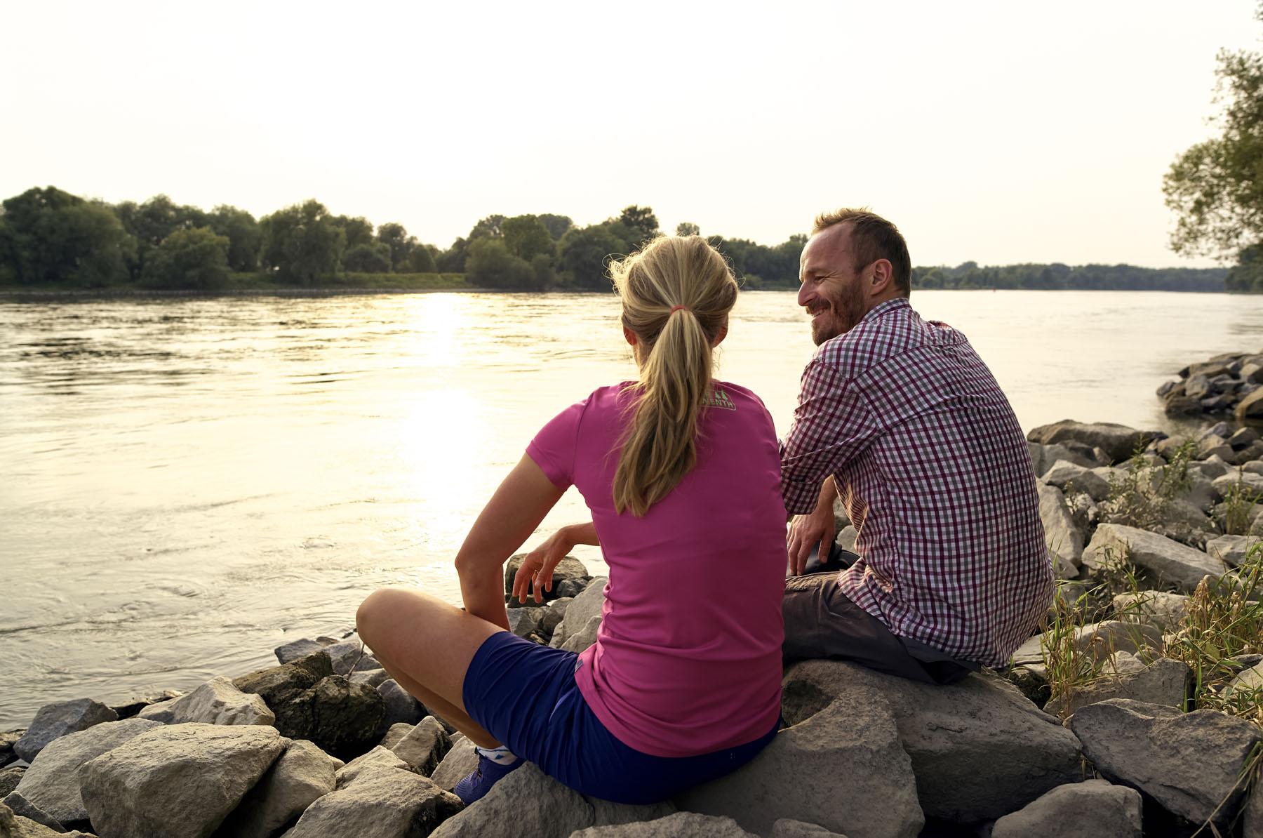 Radeln an der Donau im Deggendorfer Land