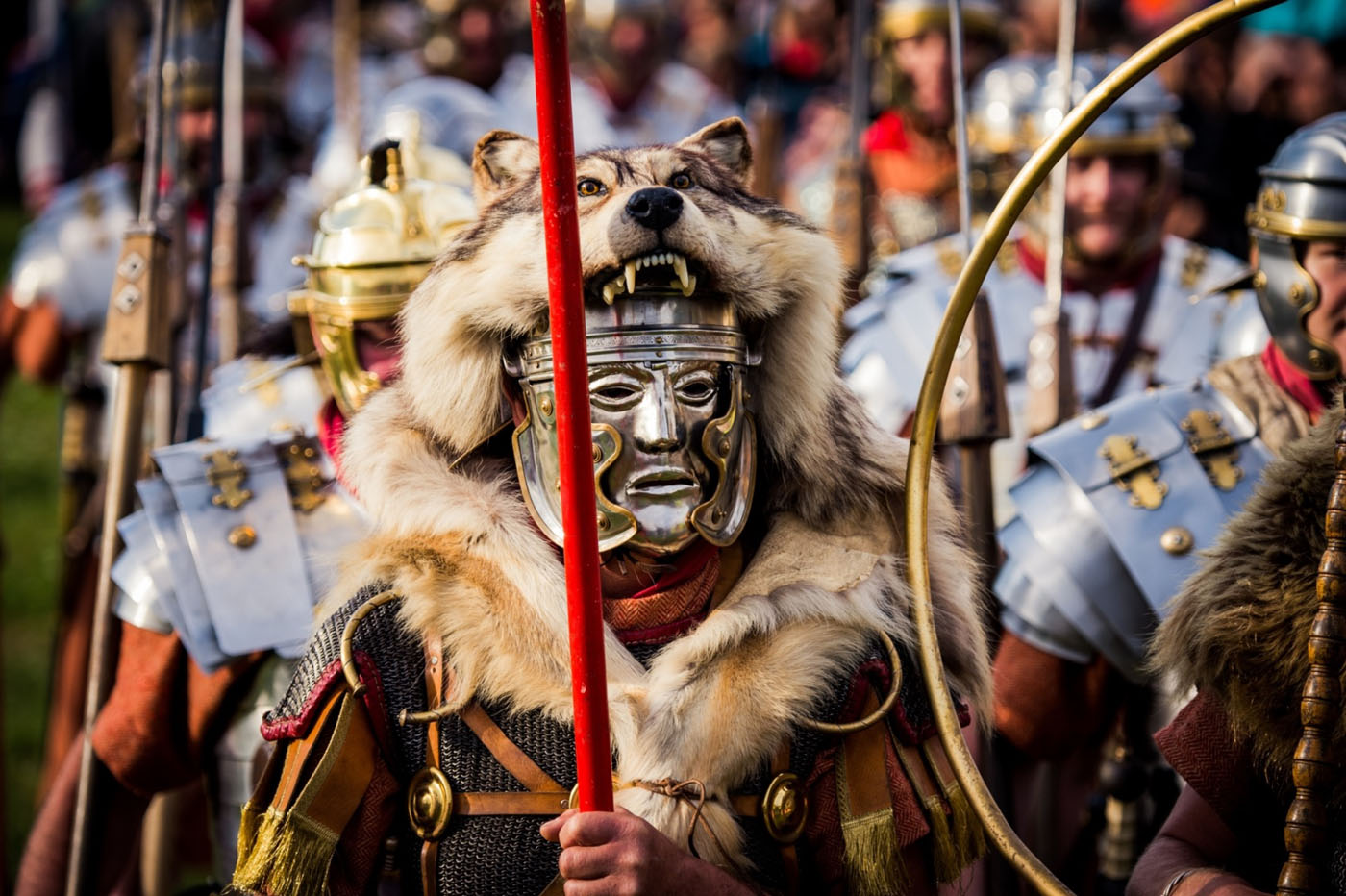 "Bei Bayerns größtem Römerfest ""Salve Abusina"" in Bad Gögging kann man die Römer live erleben"