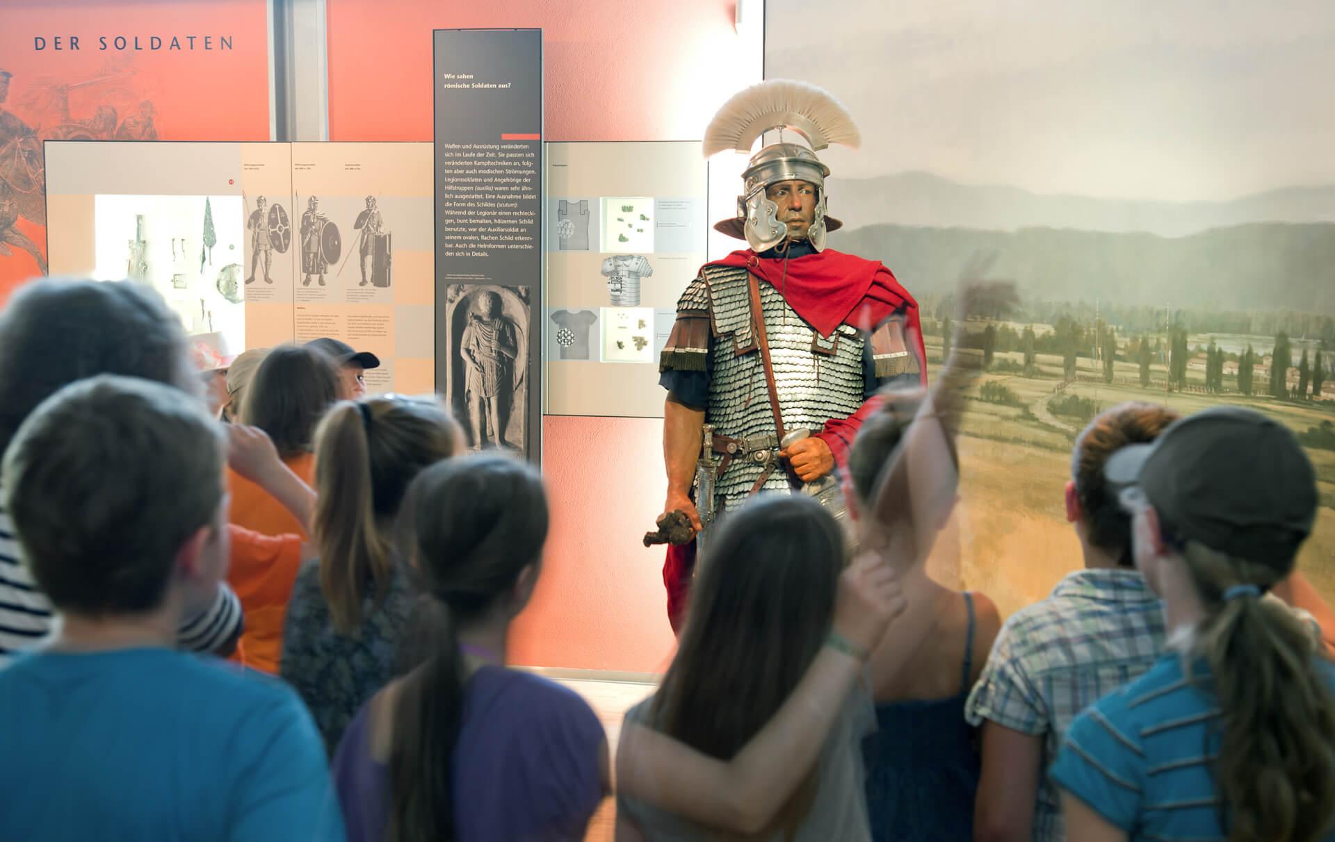 Das Museum Quintana in Künzing zeigt anschauliche Beispiele zum Leben in der Römerzeit